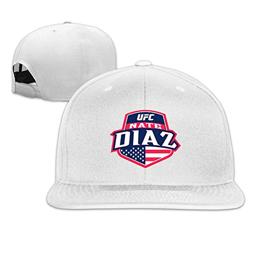 Cute Plain Adjustable Caps UFC Nate Diaz Country Crest Trucker Hat Sun Hats (Trucker Crest Hat)