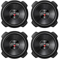 4) NEW Kenwood KFC-W3016PS 12 1600W RMS Car Audio Subwoofers Subs Woofers 4 Ohm
