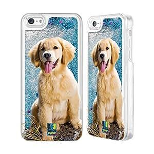 Head Case Designs BELIFLOR ebteste Perros Razas Cielo Azul Funda con flussigem Glitter para Apple iPhone Samsung Phones, compatible con Kompatibilität: Apple iPhone 5c: 8GB, 16GB, 32GB