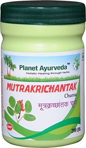 Planet Ayurveda Mutrakrichantak Churna, 200 Grams; 2 Jars by Planet Ayurveda