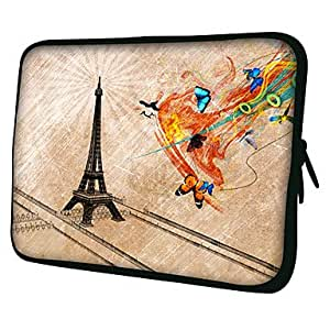 """AES - Hand Drawing 7"""" 10"""" Protective Sleeve Case for P3100/P6800/P5100/N8000/Microsoft Surface , 7"""""""