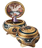 Anastasia - Alexandra & Nicholas Hinged Trinket Box by The San Francisco Music Box Company
