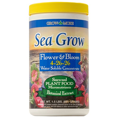 Grow More Sea Grow Plant Food 4-26-26 - 1.5 Pounds by DPD
