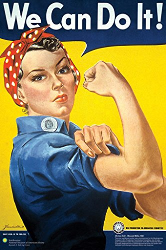 Pyramid America Rosie the Riveter - We Can Do It! Poster Art