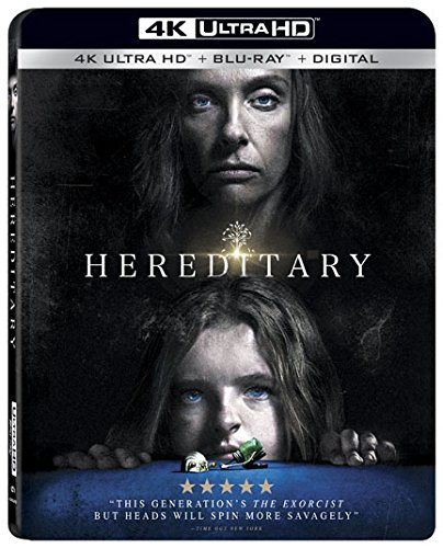 4K Blu-ray : Hereditary (With Blu-ray, 4K Mastering, 2 Pack, 2PC)