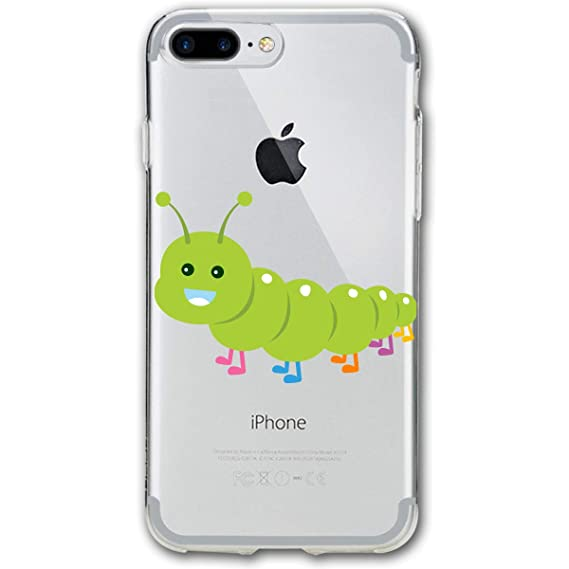 reputable site 575ba 4b170 Amazon.com: Hungry Caterpillar iPhone 7 Plus Case, iPhone 8 Plus ...