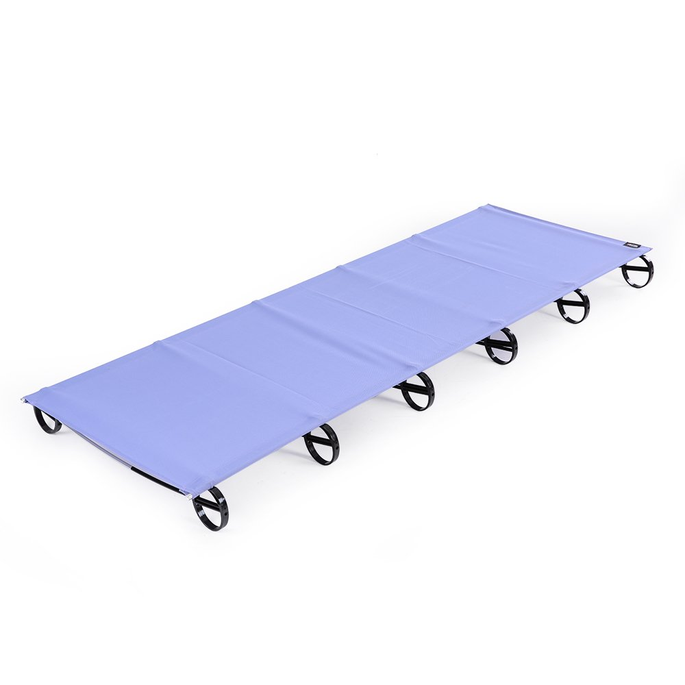 Docooler Portable Folding Camping Cot Outdoor Folding Bed Off Ground Camping Bed Aerial Aluminum Alloy Ultralight Camping Cot Moisture-proof Elevated Bed Mat 66*200CM