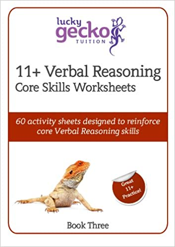 11+ Verbal Reasoning Core Skills Worksheets: 60 Activity Sheets ...