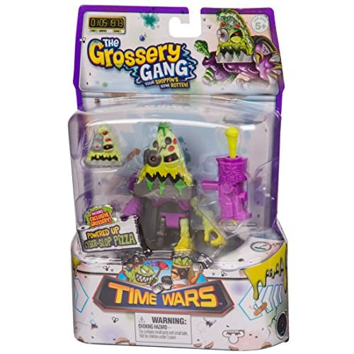 Putrid Pizza and Cyber Slop Pizza The Grossery Gang Time Wars Lot of 2