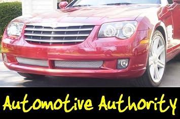 Chrysler Crossfire cromado rejilla de malla Insertar 04 - 07: Amazon.es: Coche y moto