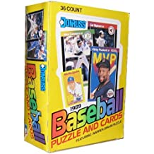 1989 Donruss Baseball Wax Box (36 Sealed Packs) Look for the Ken Griffey Jr. Rookie Card