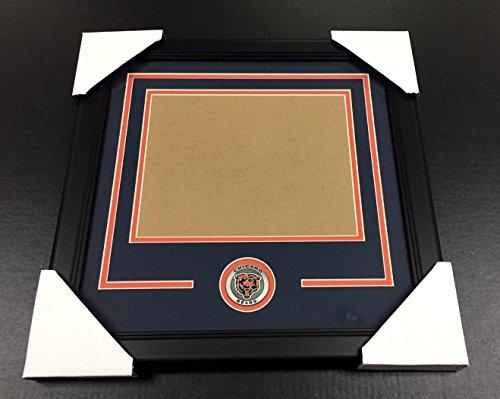 CHICAGO BEARS Medallion Frame Kit 8x10 Photo Double Mat HORIZONTAL