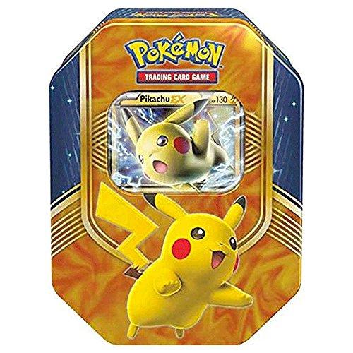 Price comparison product image Pokemon TCG: Fall 2017 Battle Heart Tin, Pikachu EX