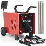 ARC Welder - ARKSEN ARC Welder 250AMP Rated Input Voltage, 110V/220V, Dual Mode, Red