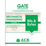 GATE2018 Mechanical Engineering Practice Book Volume 2, 1116 Expected questions with solutions