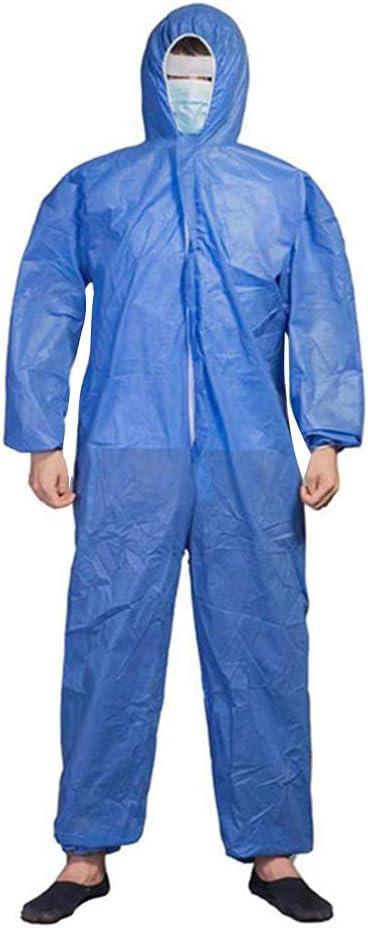 V/êtement de protection Virus m/édical jetable antistatique pour v/êtements de protection contre les virus xxl Couleur bleu clair