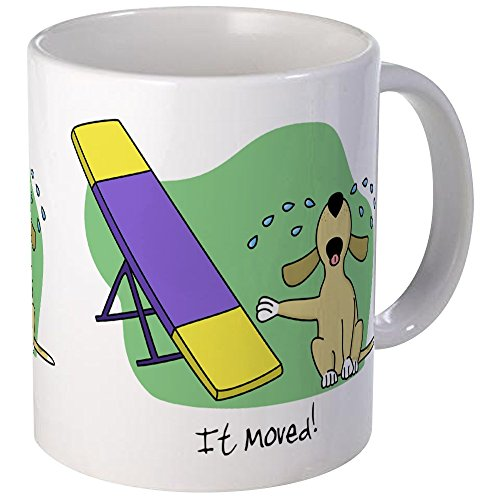 (CafePress See Saw Agility Dog Mug Unique Coffee Mug, Coffee Cup)