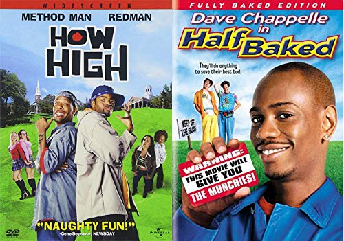 HALF...HIGH... How High & Half Baked (Fully Baked Edition) 2-DVD Double Feature Bundle | NEW Comedy Trailers | ComedyTrailers.com