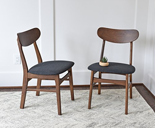 Amazon.com: Mid Century Modern Dining Chairs SET OF 2 By