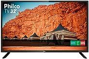 """TV 32"""" HD Backlight D-LED Philco PTV32F10D, Receptor Digital Integrado - B"""