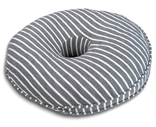 Donut Pillow Cushion, Memory Foam, For Tailbone, Coccyx, Butt Pain - Orthopedic Pillows and Cushions for Pregnancy, Back Support, Post-Surgery, Postpartum - Comfortable, Hemorrhoid pillow, Women and Men