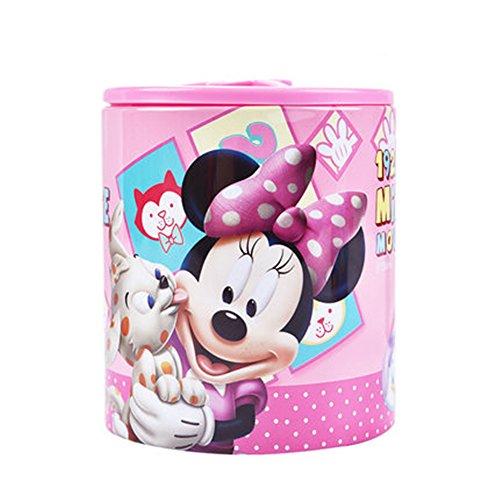 YOURNELO Cute Disney Mickey Mouse Iron Pen Pencil Holder Desk Organizer Accessories (Mickey Mouse Desk Phone)
