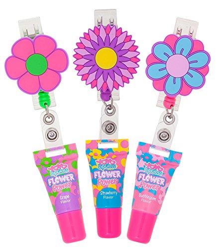 YOYO LipGloss FLOWER Power, (3 Count) - Lip Gloss Assortment