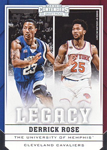 - 2017-18 Panini Contenders Draft Picks Basketball Legacy #8 Derrick Rose Cleveland Cavaliers