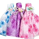 3 Pieces Half Lace Dress Evening Gown Doll Clothes Doll Dress Random Style