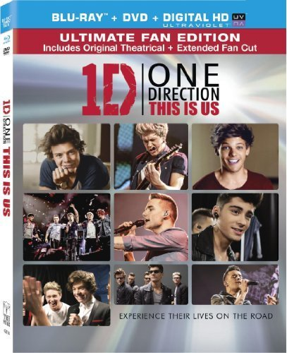 One Direction: This is Us (Two Disc Combo: Blu-ray / DVD + UltraViolet Digital Copy) by Sony