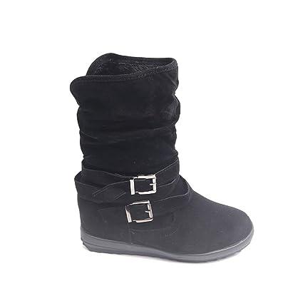 a3405a326281e Amazon.com: Eric Carl Women Fashion Ankle Boot - Warm Snow Boots ...