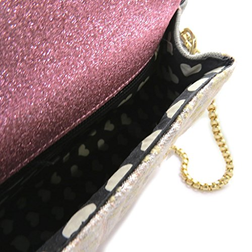 french touch' bolsa 'Lollipops'rosa claro - 21x17x8 cm.