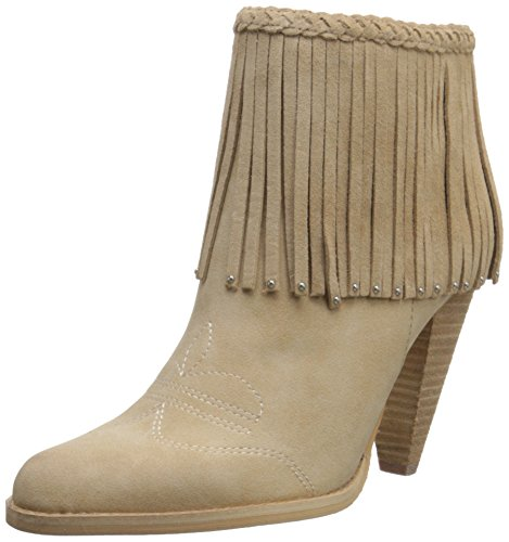 Volatile Women's Shakee Western Boot - Beige - 8 B(M) US