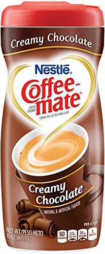 Nestle Coffee-Mate Coffee Creamer Creamy Chocolate, Pack of 6 (15 Ounce)