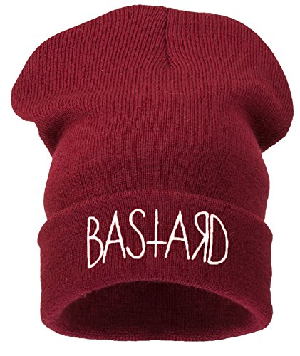 Gorro BASTARD 4sold dark white red AqpYPTw