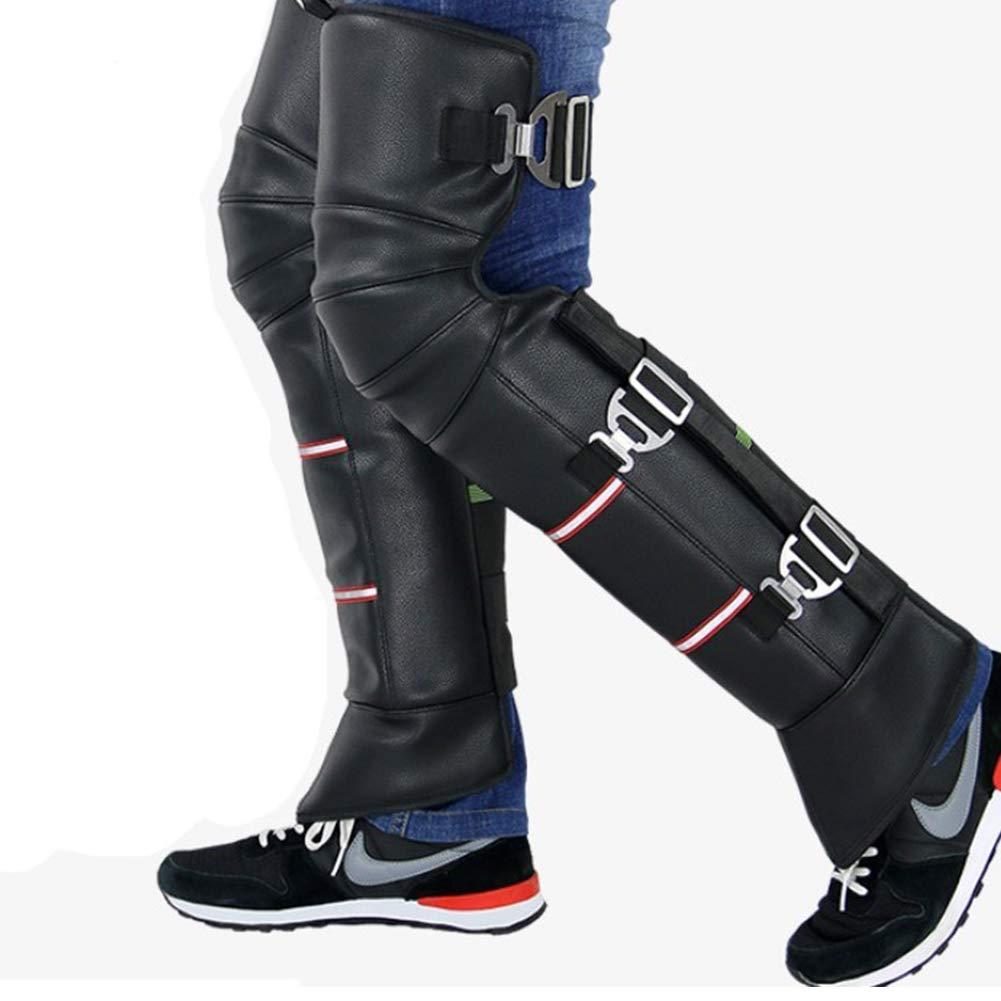 Ginocchiere per Motocross per Ciclismo e Moto Mylujo Spesse Impermeabili Protezione per Le Gambe a Prova di Freddo Calde