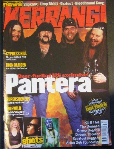 (Kerrang! Issue 795 April 1, 2000 (Pantera cover))