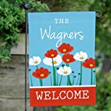 "GiftsForYouNow Polyester Summer Flowers Personalized Garden Flag, 12.5"" by 18"" Review"