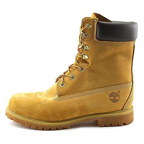Premium Mens Wheat 8 Timberland Boot Nubuck C0wFHx