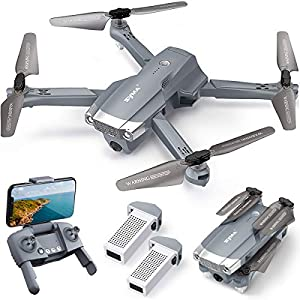 Flashandfocus.com 51CgFU8qxDL._SS300_ SYMA X500 4K Drone with UHD Camera for Adults, Easy GPS Quadcopter for Beginner with 56mins Flight Time, Brush Motor…