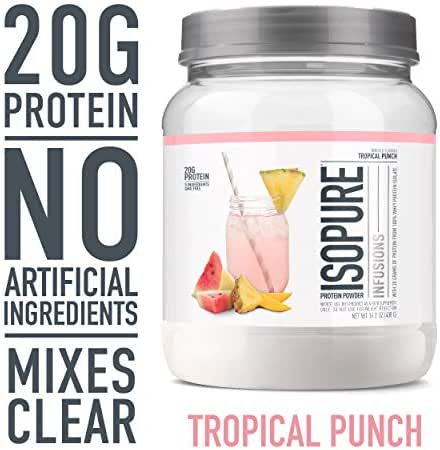 Isopure Infusions Whey Protein Isolate