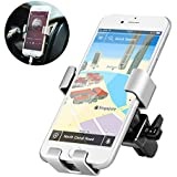 Phone Holder for Car, Universal Air Vent Car Phone Mount Cradle 360 Rotation with Release Button for iPhone X 8 8 Plus 7 7 Plus 6 Samsung Galaxy S9 S8 S8 Plus S7 and More