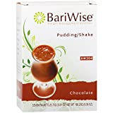 BariWise High Protein Shake/Low-Carb Diet Pudding & Shake Mix - Chocolate (7 Servings/Box) - Gluten Free, Low Fat, Low Carb