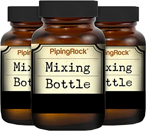 Rock And Roller Glasses (Piping Rock 3 Pack Aromatherapy Mixing Glass Bottles 1 fl oz (30 mL)))