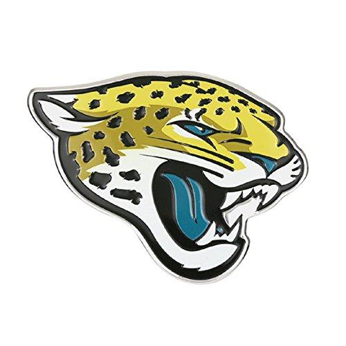 Jacksonville Jaguars Color Auto Emblem - Die Cut by Hall of Fame Memorabilia