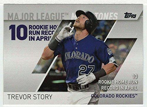 Trevor Story (Baseball Card) 2017 Topps Major League Milestones # MLM-3 Mint