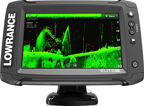 Elite-7 Ti - 7-inch Fish Finder with TotalScan Transducer and C-MAP PRO Map Card