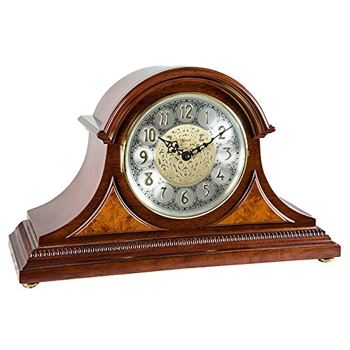 Hermle Amelia Mantel Clock in Cherry with Quartz Movement Sku# 21130N92114