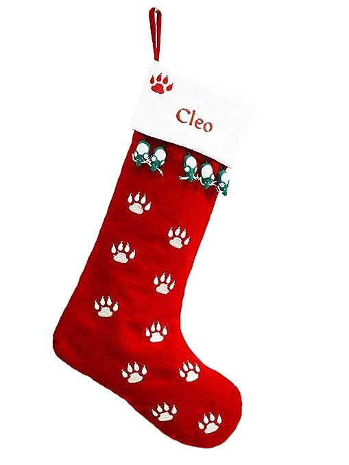 Cat Christmas Stockings.Pet Christmas Stocking Cat