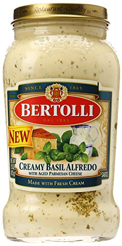 Where to find pasta sauce basil alfredo?